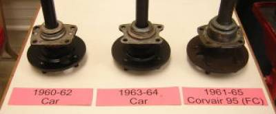 Wheel Bearing- 1960 2nd design -> 1964 Cars & FC