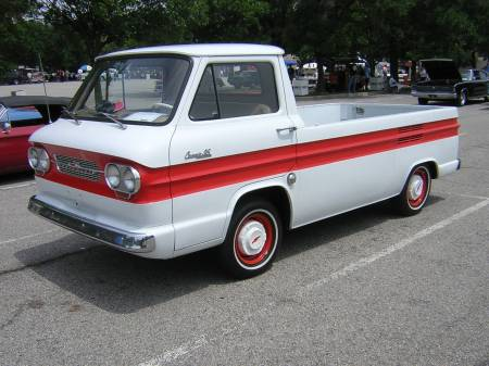 1963 Rampside Pickup.