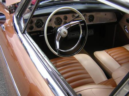 195? Studebaker _____ Hawk. The cool dash.