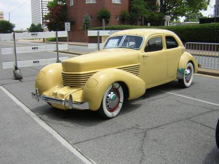 1937 Cord 812 Westchester.
