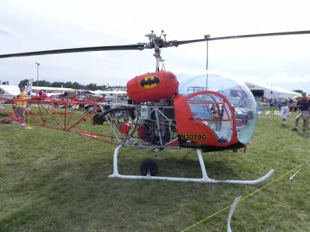 This is the original Batcopter!