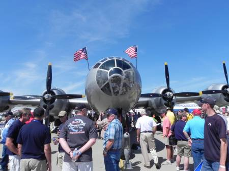 B-29 Superfortress.
