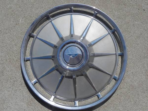 1961 Full Wheel Cover